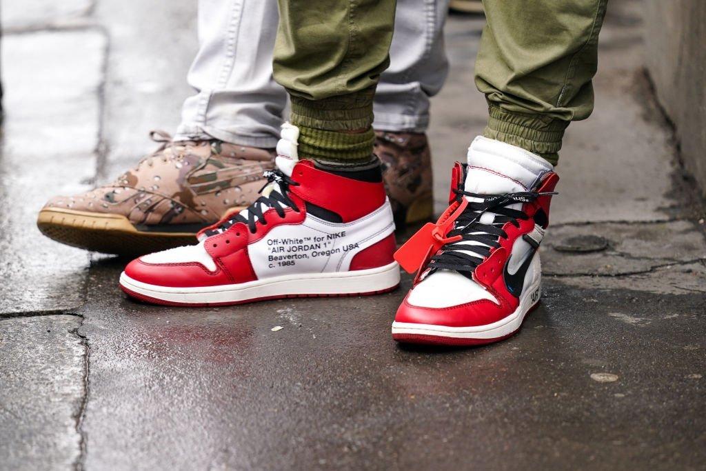 Air Jordan 1, lançamento da Off White-Nike Jordan 1