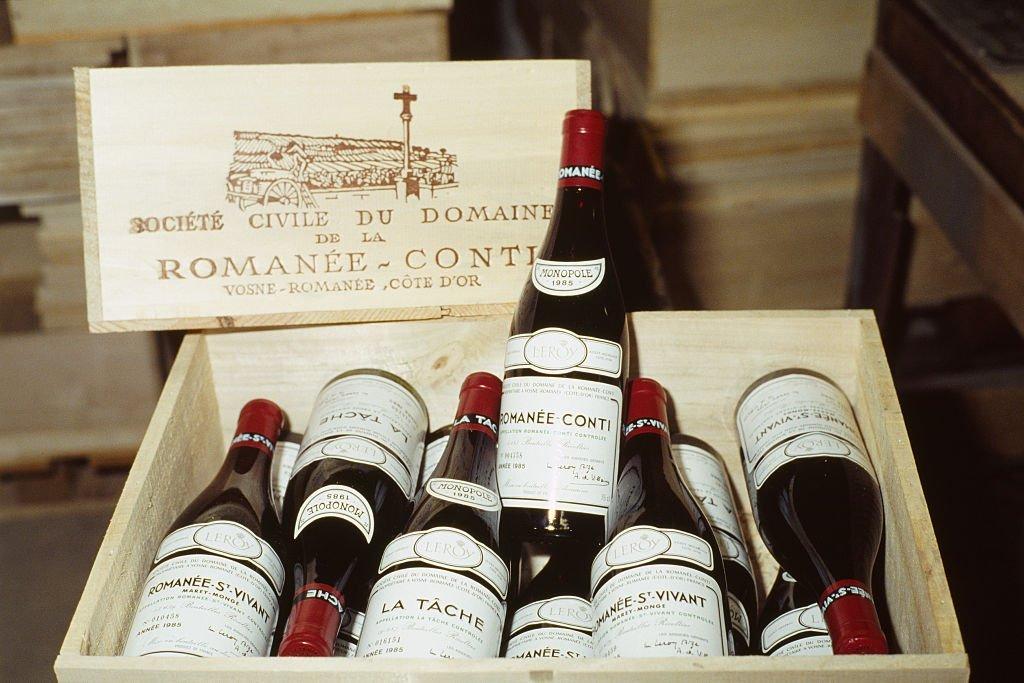 Vinhos Domaine de la Romanée Conti