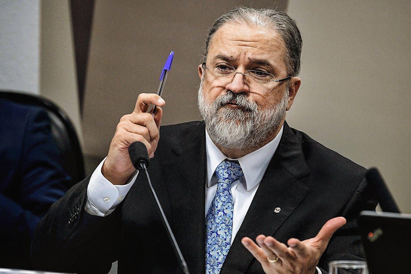 Augusto Aras na sabatina do Senado