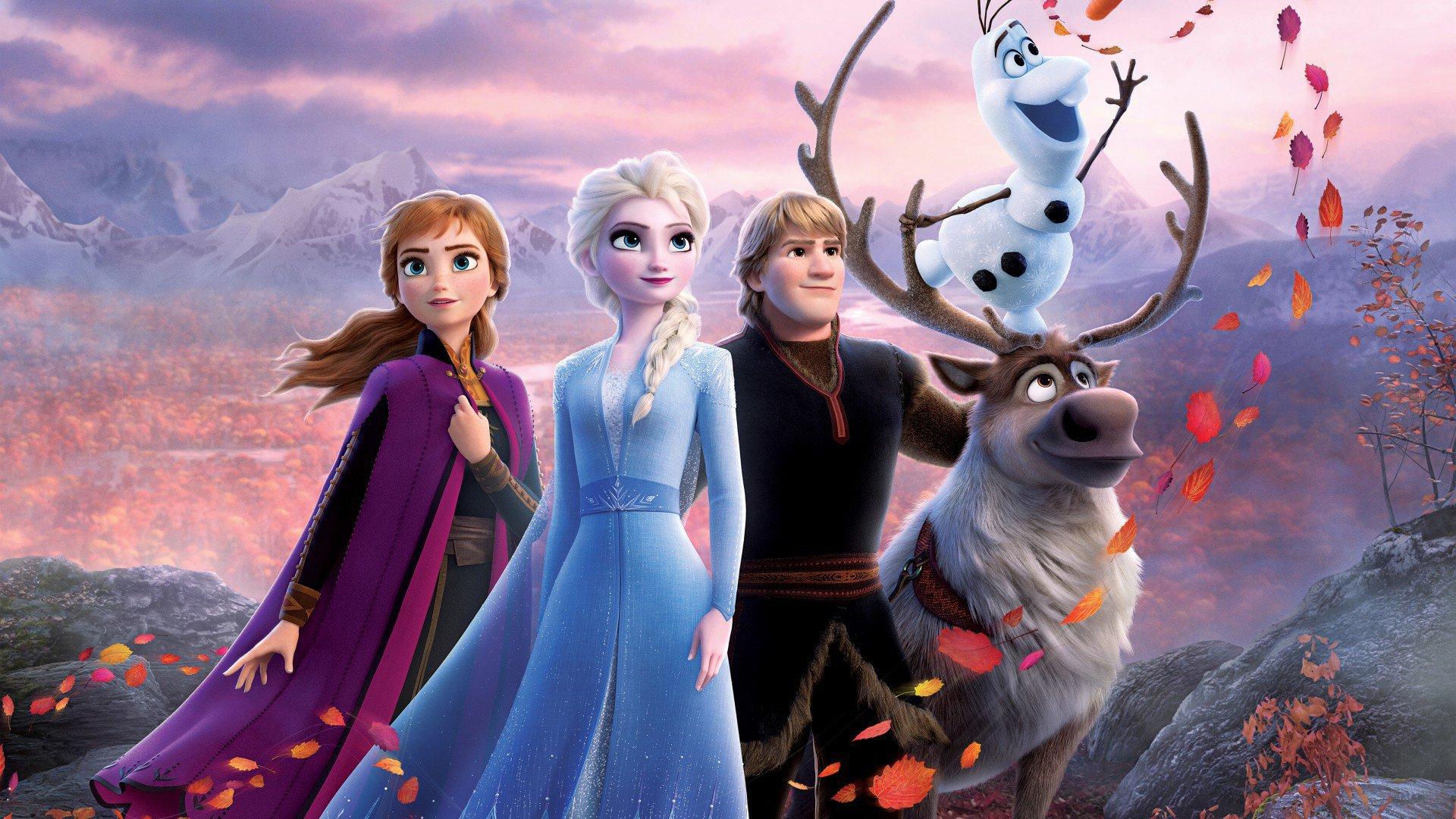"Filme ""Frozen 2"""