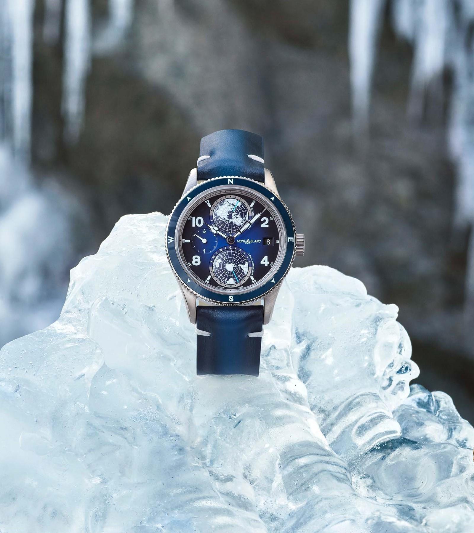 Geosphere on ice. (Montblanc/divulgação)