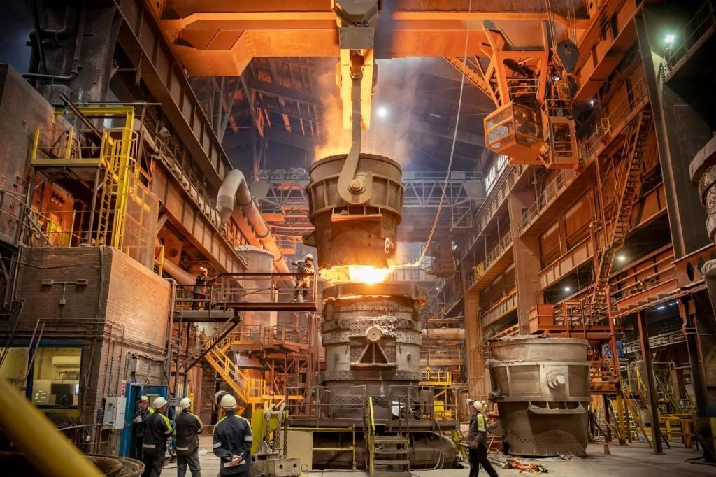 Indústria siderurgia no Reino Unido