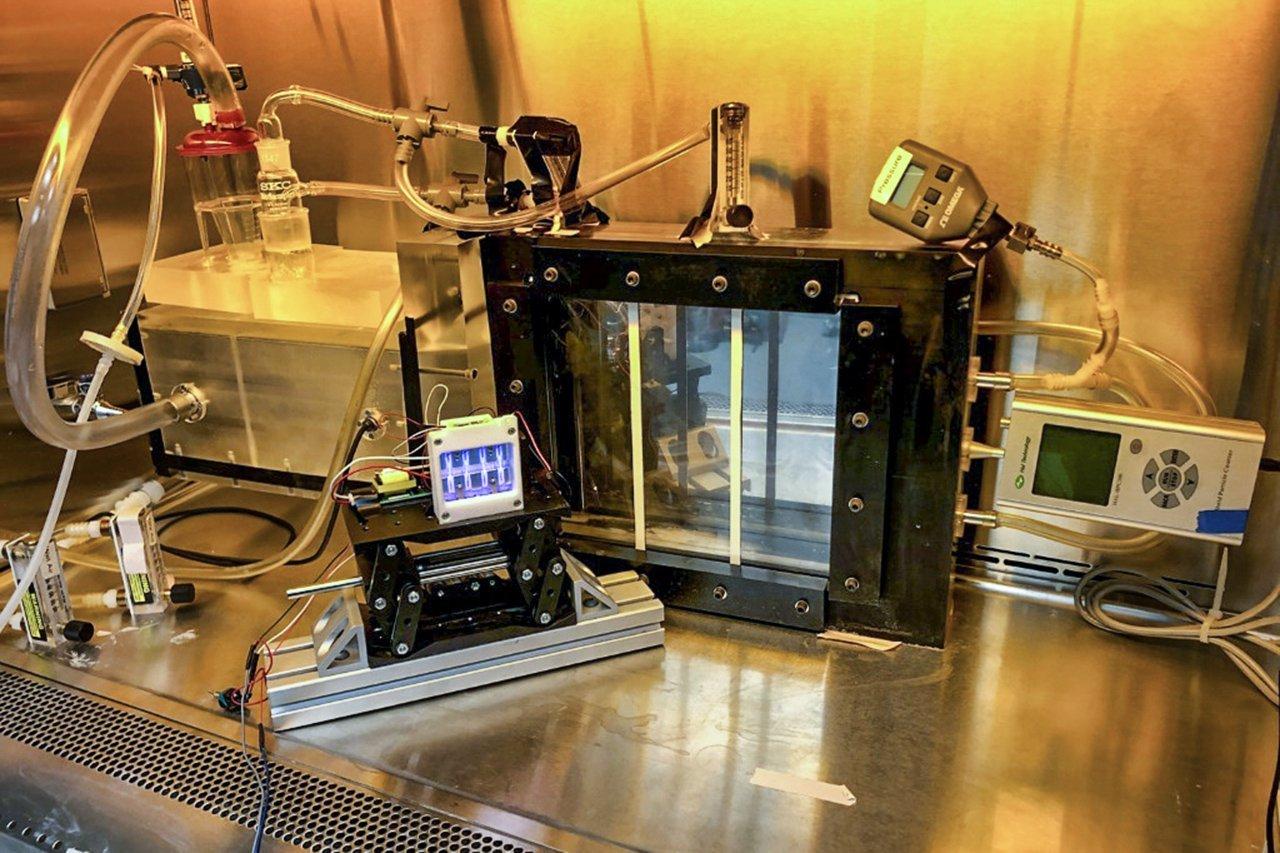Pesquisadores da Universidade de Columbia, nos Estados Unidos, trabalham na criação de lâmpadas ultravioletas para destruirvírus