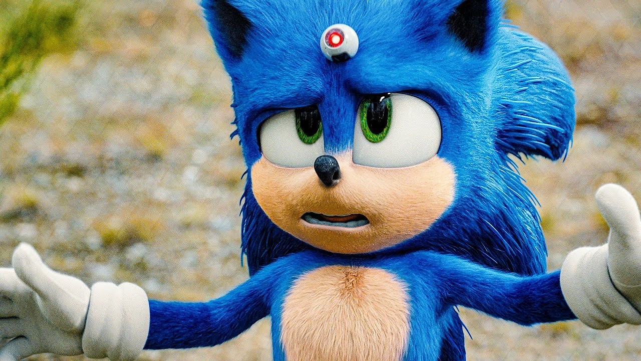 """Cena do filme """"Sonic"""""""