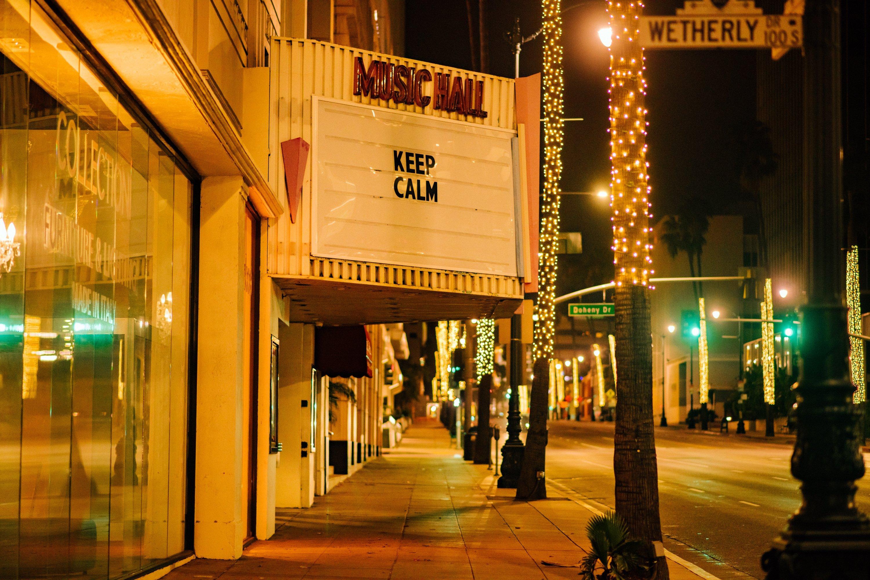 The Music Hall Theater, em Beverly Hills, Califórnia