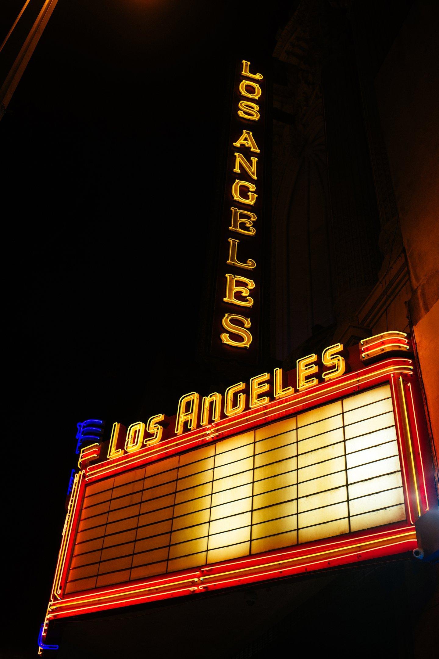 Los Angeles Theater, em Los Angeles