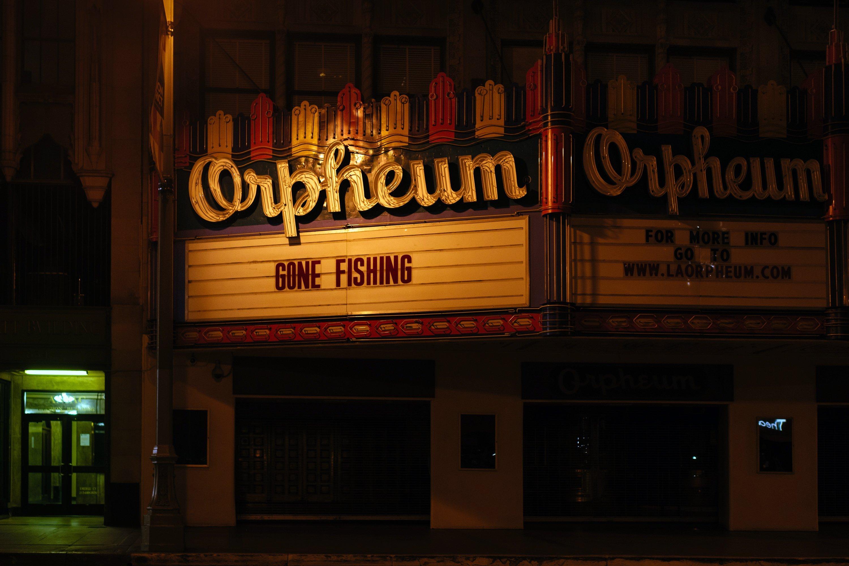 Cinema Orpheum Theater, em Los Angeles