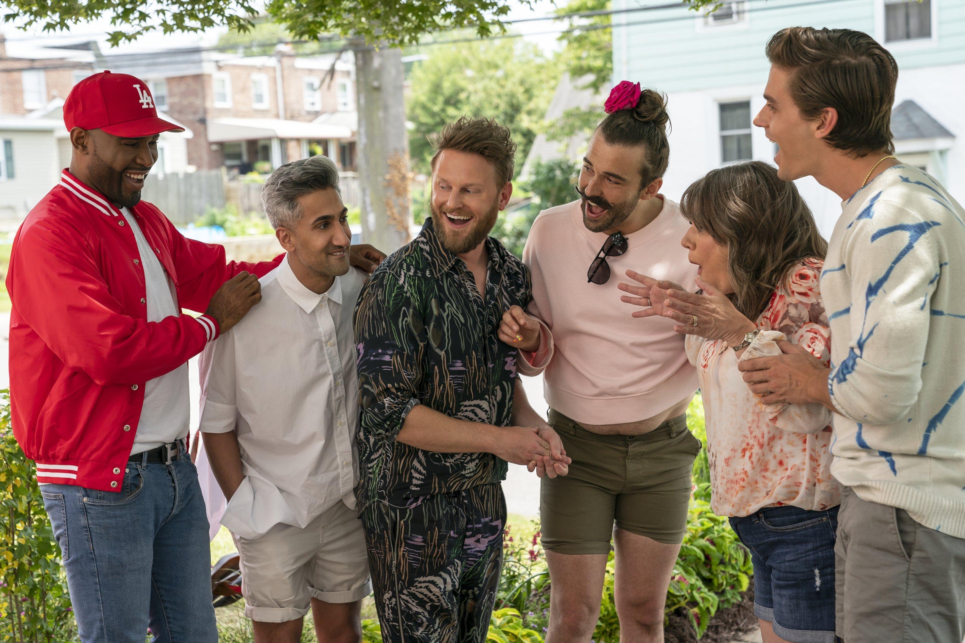 Elenco de Queer Eye na quinta temporada: reality show da Netflix