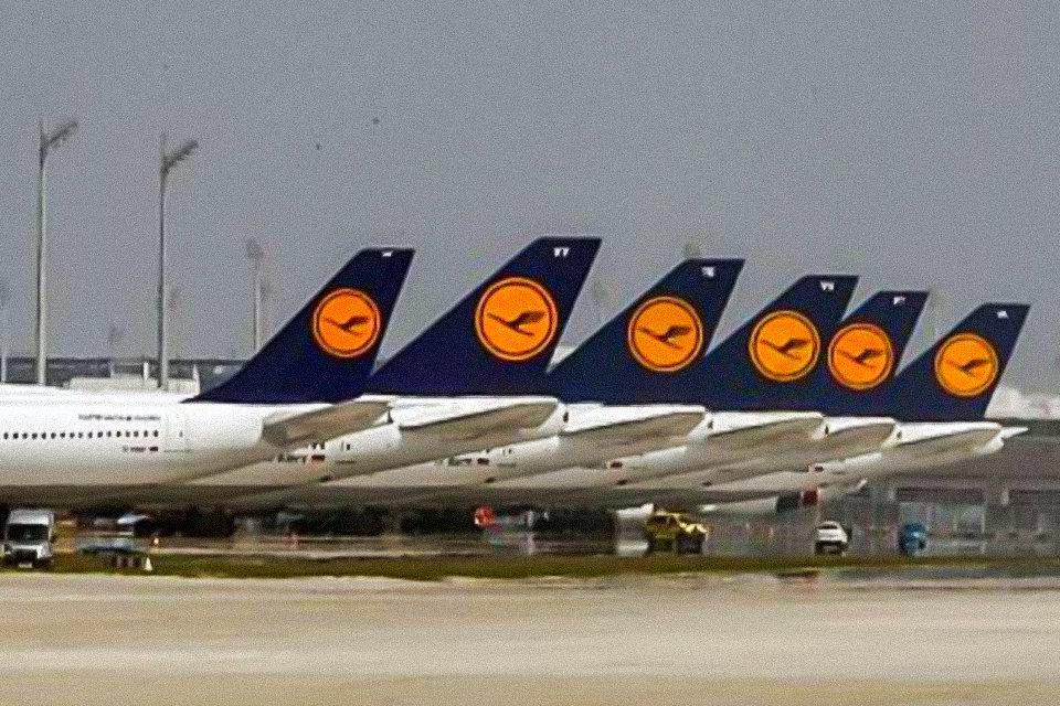 Lufthansa anuncia prejuízo de € 2,1 bilhões no 1º trimestre