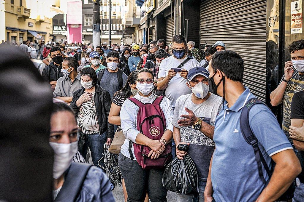 Coronavírus: segunda onda no Brasil?