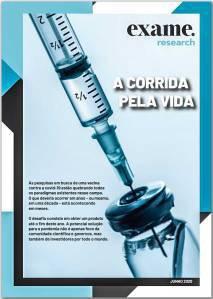 """Exame Research -- Relatório """"Vacinas: a corrida pela vida"""""""