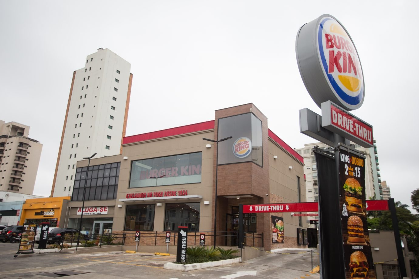 Restaurante da rede de fast food Burger King