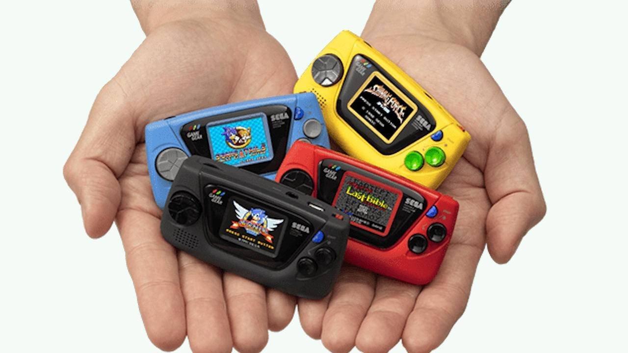 Sega lança versão mini do Game Gear em comemoração aos seus 60 anos