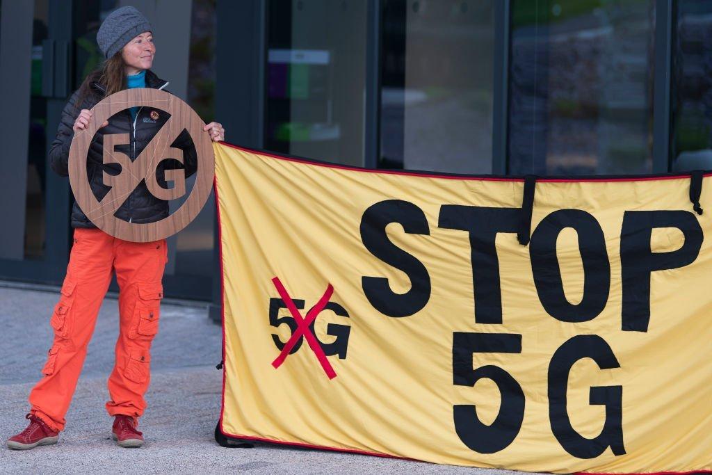 5G protestos