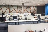 Escritório vazio da Algar Tech