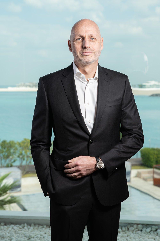 Stéphane Bianchi, presidente do segmento de relógios e joias do grupo LVMH
