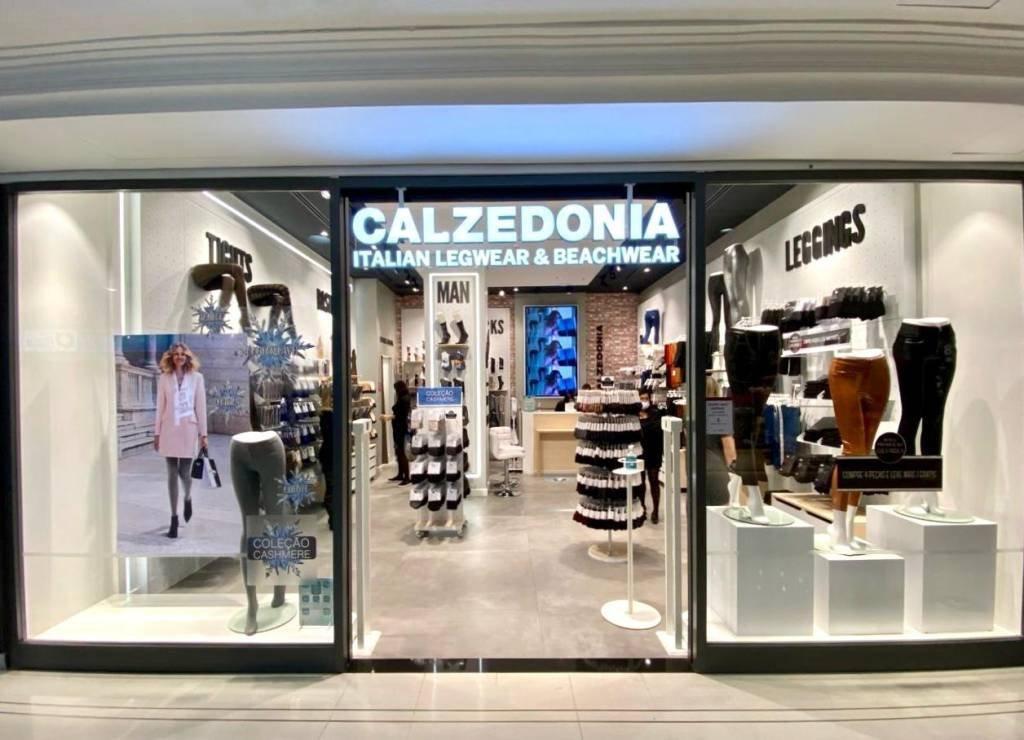 Loja da Calzedonia, marca de grupo italiano de mesmo nome e que vende meias e roupas de banho