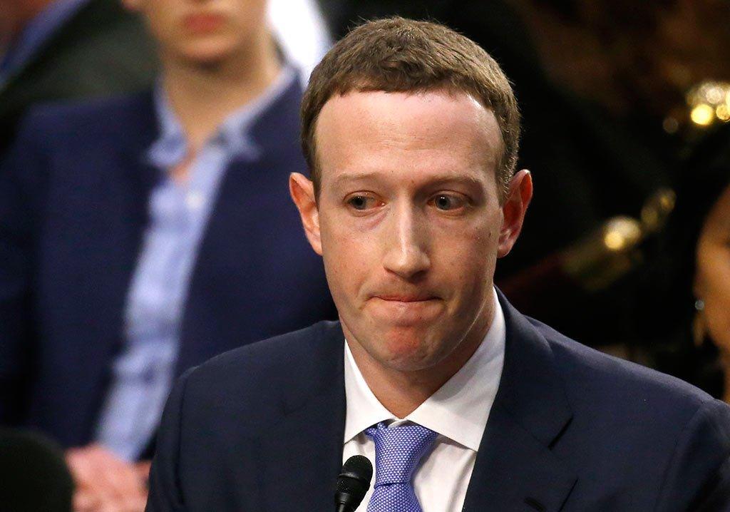 """MARK ZUCKERBERG: ele dizia que a rede social não deveria se posicionar como um """"árbitro da verdade"""""""