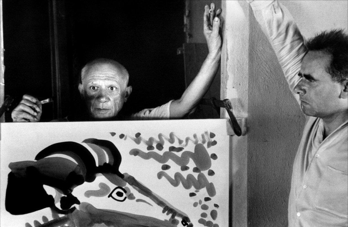 """Cena do documentário """"O Mistério de Picasso"""""""