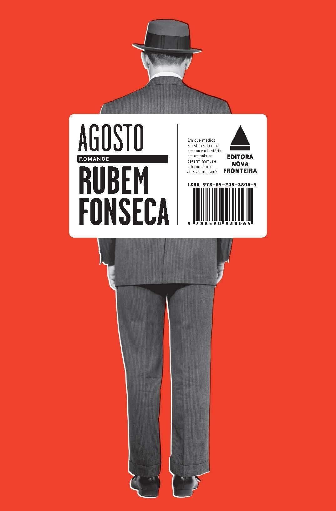 """Agosto"", romance de Rubem Fonseca"