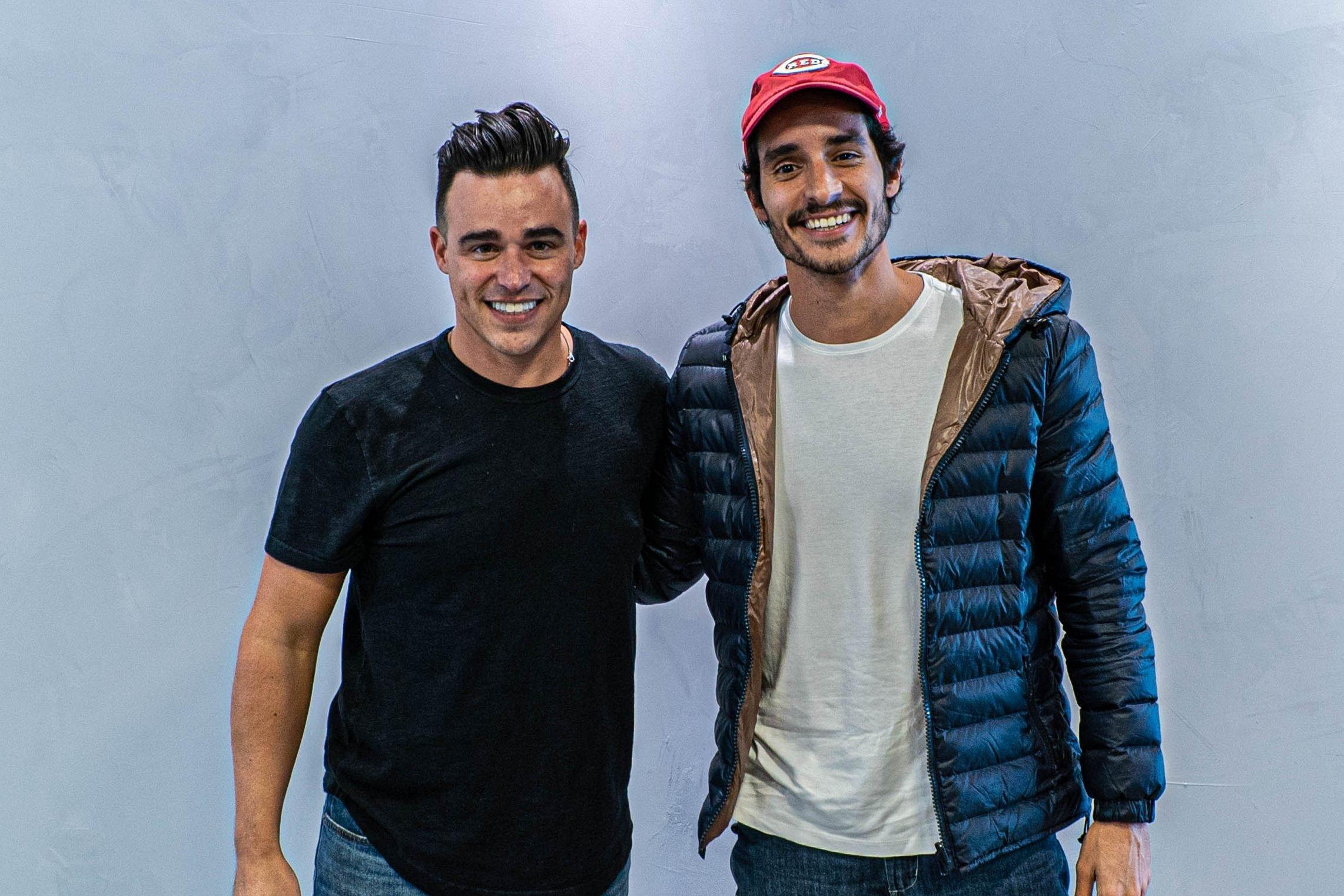 Ricardo Dias e Rapha Avellar