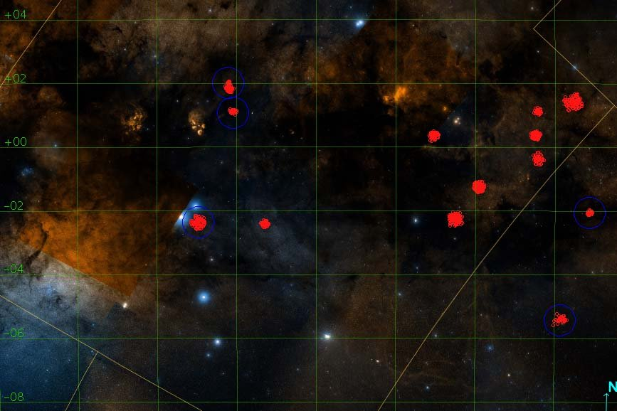 Cientistas brasileiros superam IA e descobrem 25 aglomerados estelares