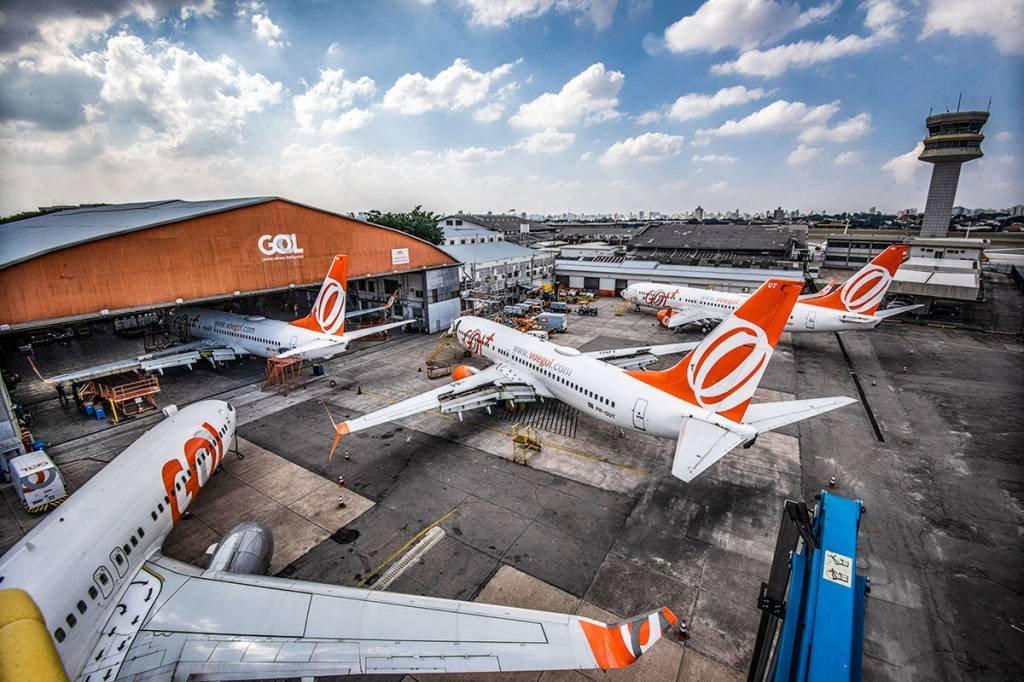 Aviões da Gol no Aeroporto de Congonhas- 2020