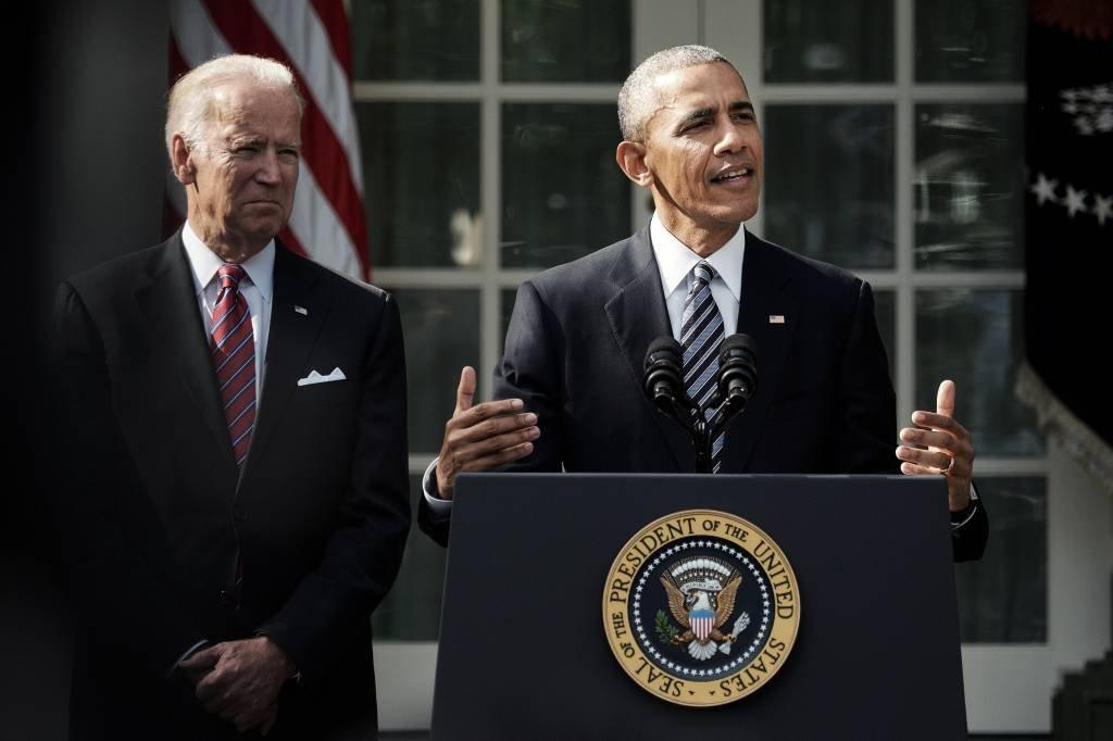 Joe Biden e Barack Obama