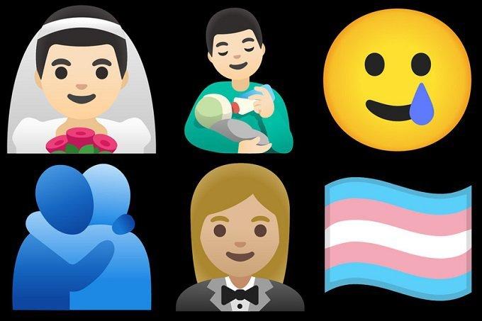 Com foco em diversidade, Android deve ganhar mais de 100 novos emojis