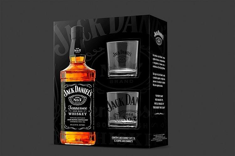 Pack Jack Daniel's: opção de presente