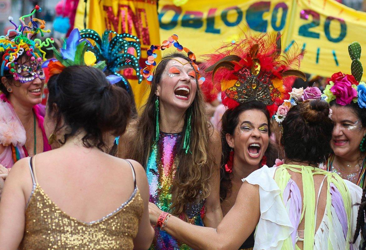 Rio de Janeiro RJ 01 03 2020-Pós Carnaval Monobloco - Foto: Fernando Maia   Riotur