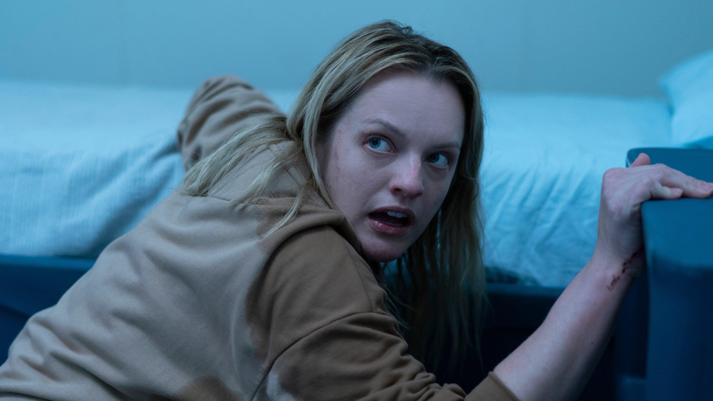 """Elisabeth Moss, em cena de """"O Homem Invisível"""""""