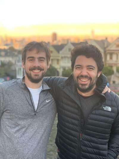 Luiz Manzano e Alexandre Mello, do fundo Big Bets