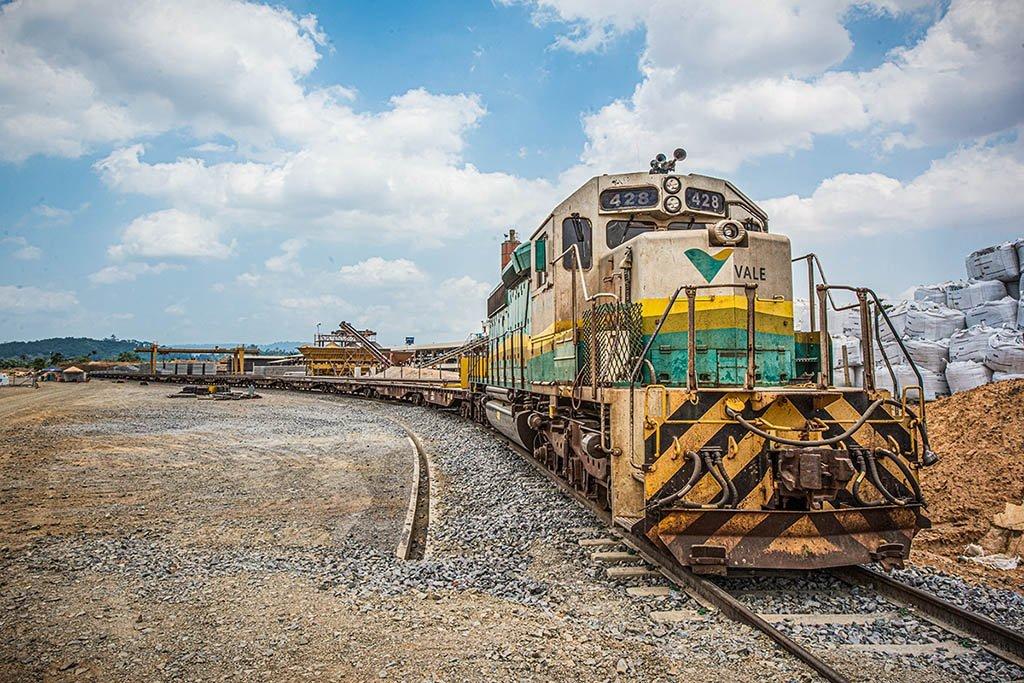 vale Construção do Ramal Ferroviario S11D/Carajás