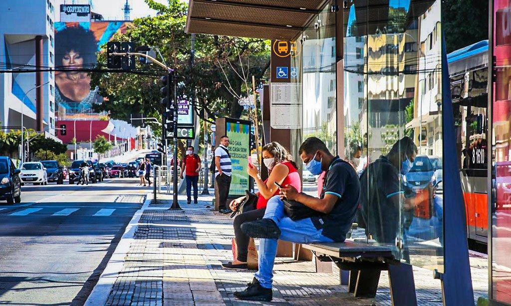 SÃO PAULO: no último balanço, a cidade registrou 38% do total de casos do estado, com 171.119 infectados