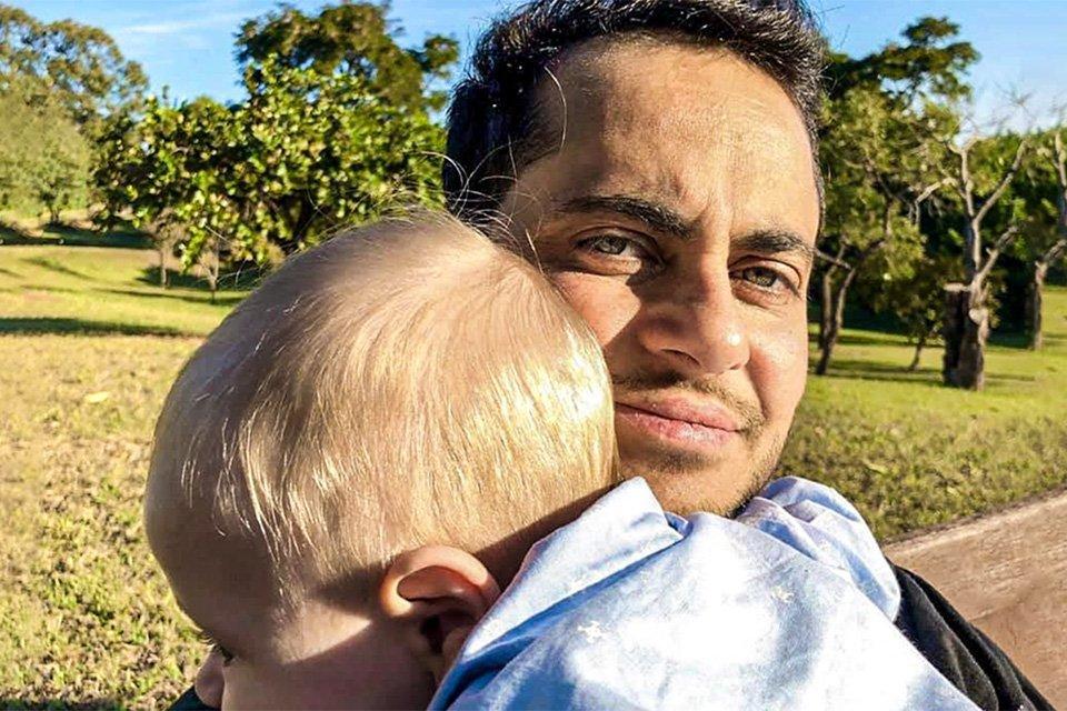 Thammy Miranda e filho: campanha de Dia dos Pais para Natura