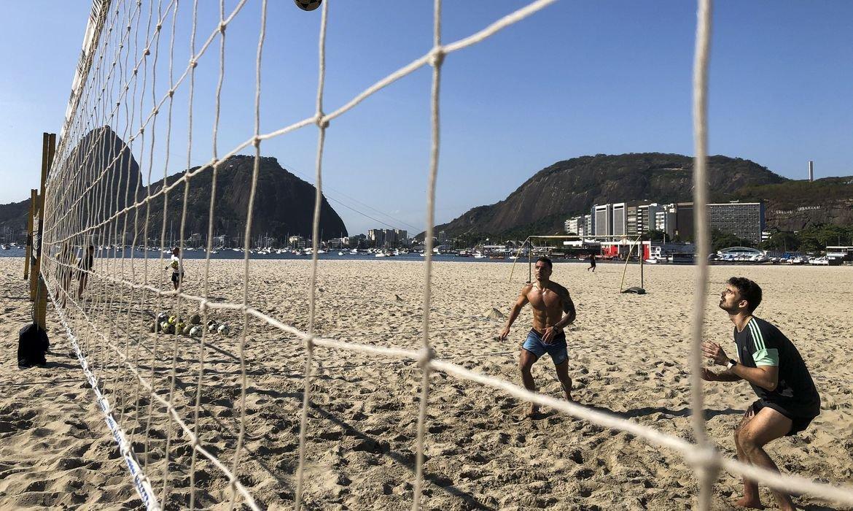 Esportes ao ar livre; Rio de Janeiro; Vôlei na praia