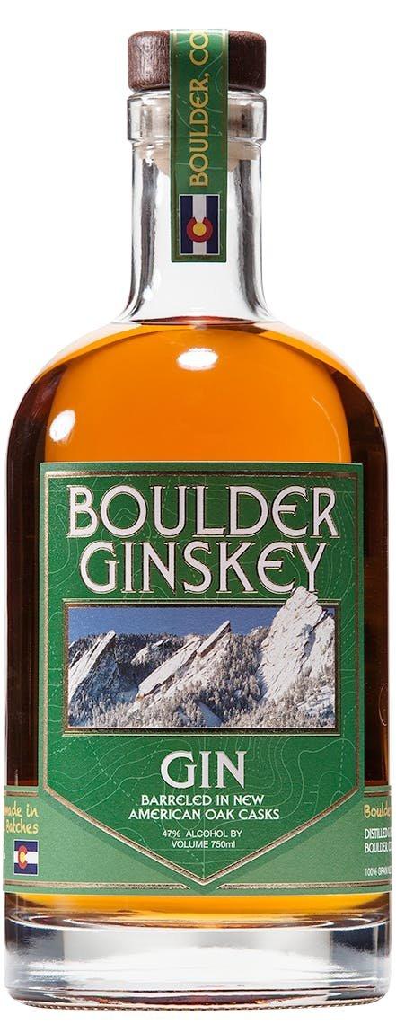 Boulder Spirits, Barreled Ginskey Gin