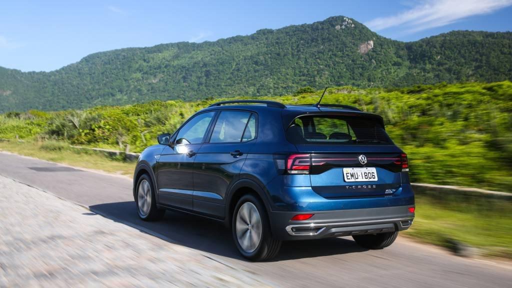 Carro SUV T-Cross da Volkswagen