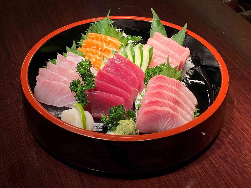 Combined Sashimi from Jun Sakamoto restaurant