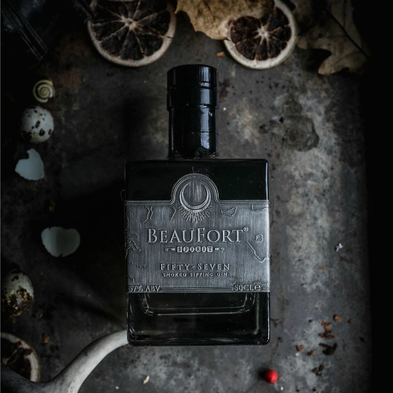 BeauFort Spirit, Fifty-Seven Smoked Sipping Gin