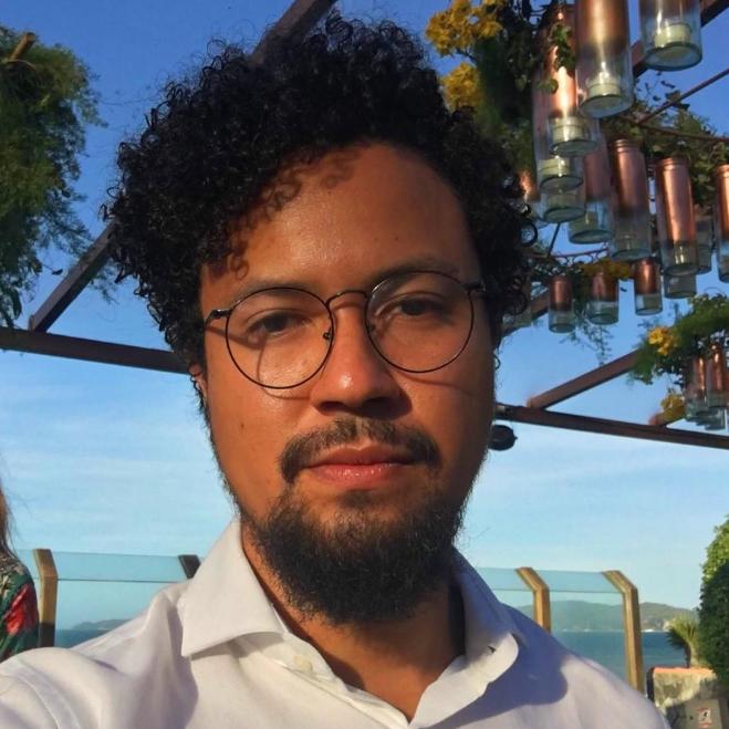 O roteirista Raul Perez