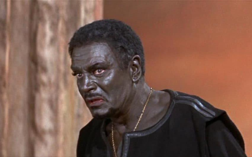 O ator Laurence Olivier