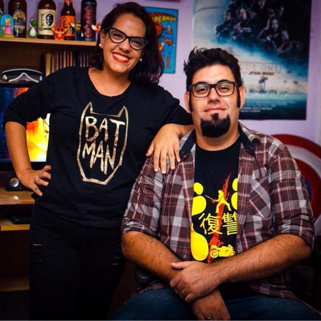 Os produtores Cal Alves e Felipe Gonçalves