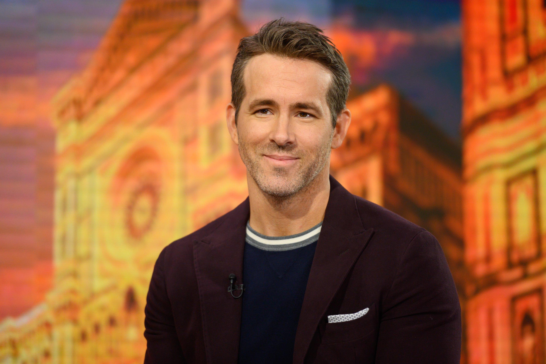 O ator Ryan Reynolds