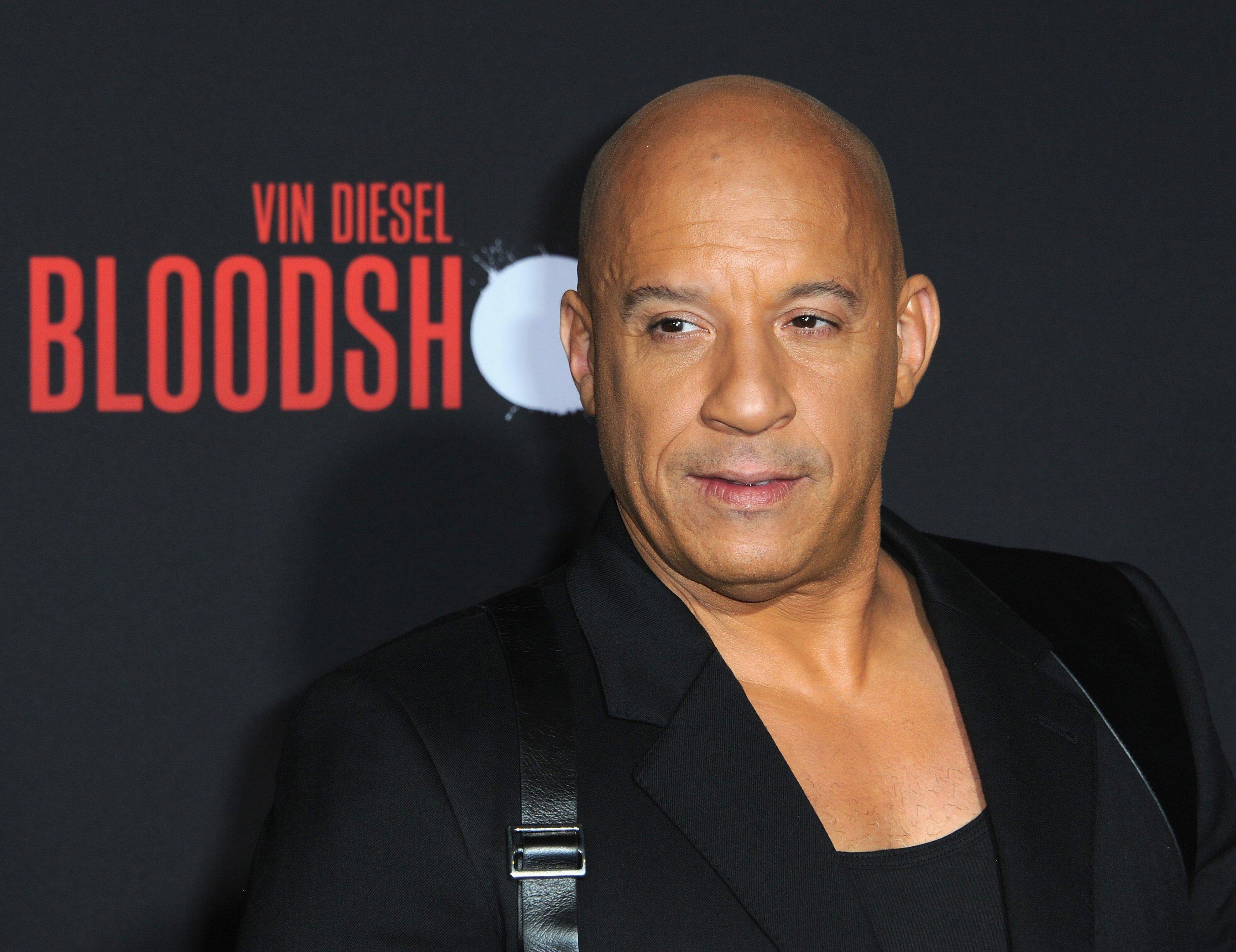 O ator Vin Diesel