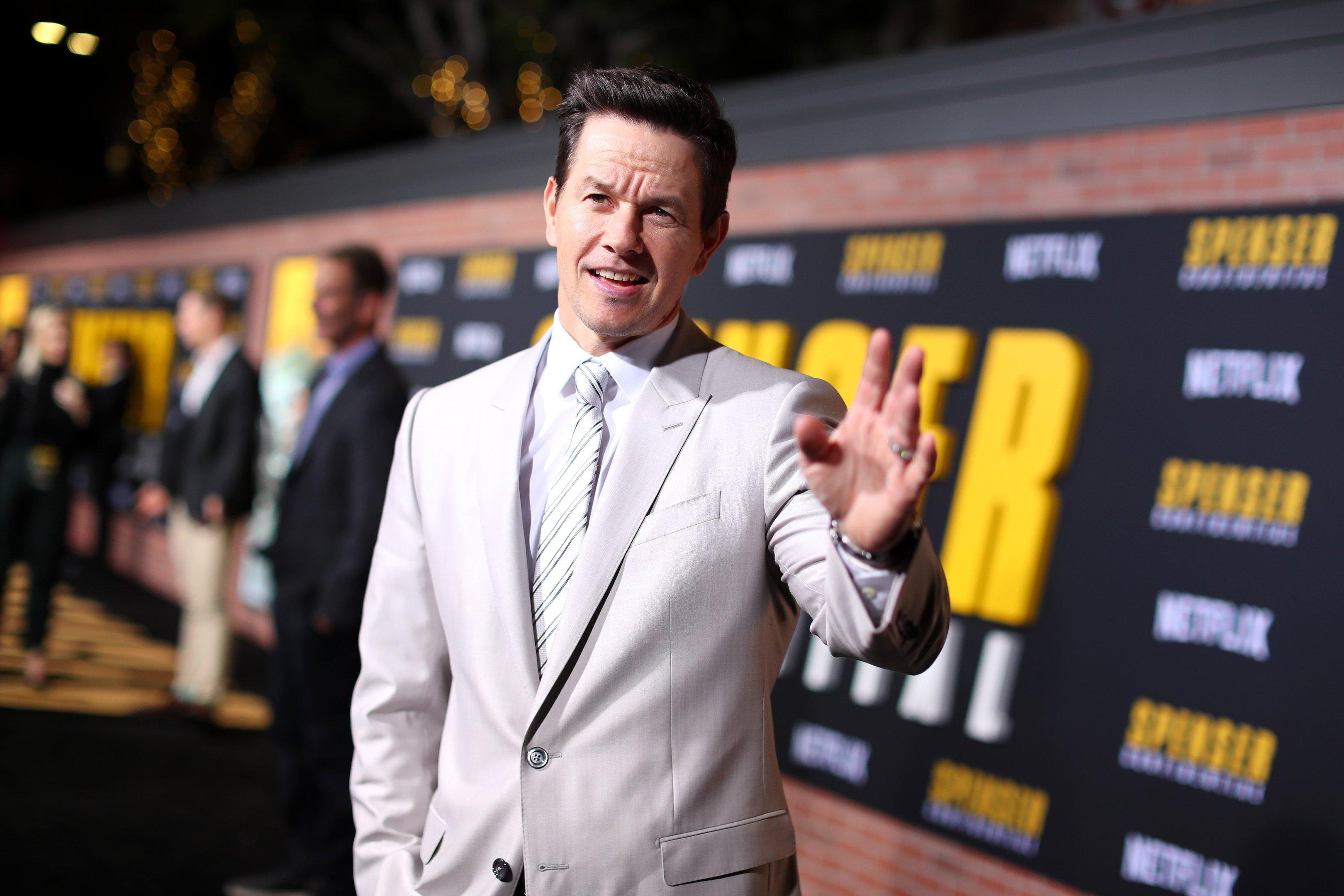 O ator Mark Wahlberg