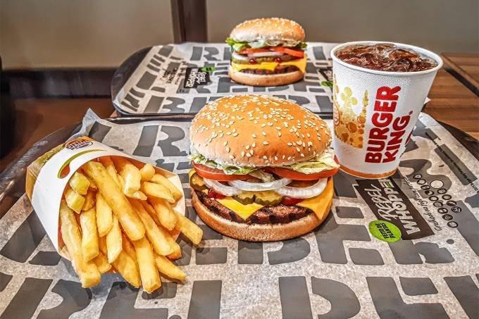 Rebel Whopper, hambúrguer vegetal da rede Burger King