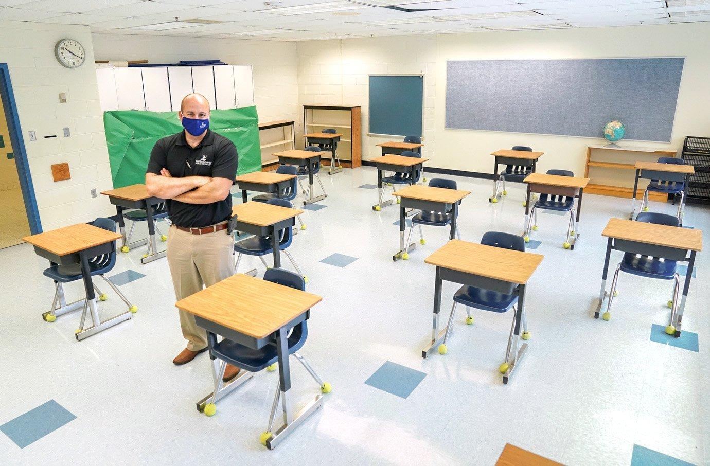 Escola na Virgínia: reabertura levanta questionamentos sobre o risco de disseminação maior da covid-19