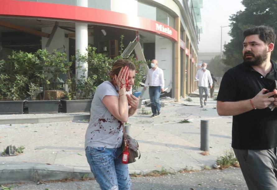Explosão foi registrada por vários moradores de Beirute, capital do Líbano